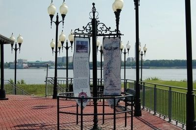 The Louisiana Purchase - West Baton Rouge Early History marker