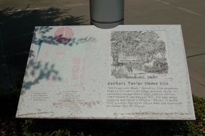 The marker is located next to the road on the west side.