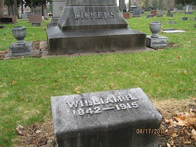 Grave of William H. Dickens