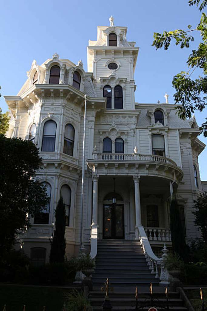 The historic Governor's Mansion was built in 1877.
