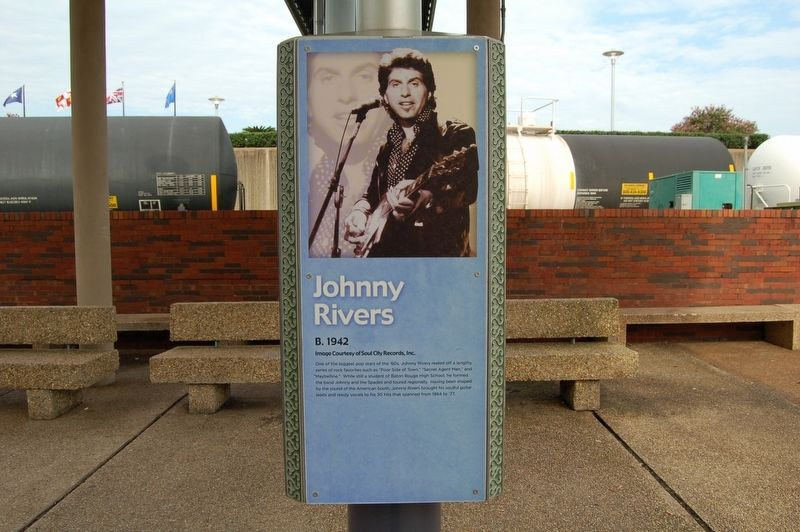 The Johnny Rivers marker