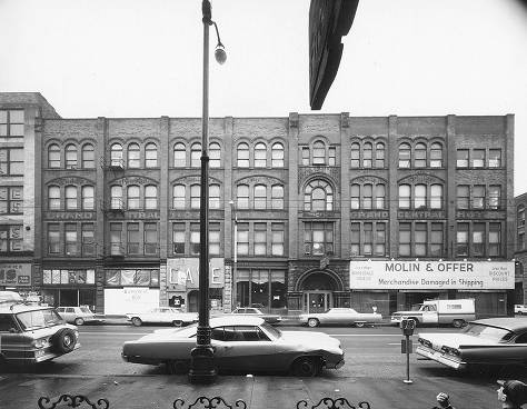 The building in 1969. Photo from the University of Washington Libraries, Special Collections Division, photo by Victor Steinbrueck
