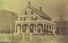The Squires-Tourtellot House around 1870