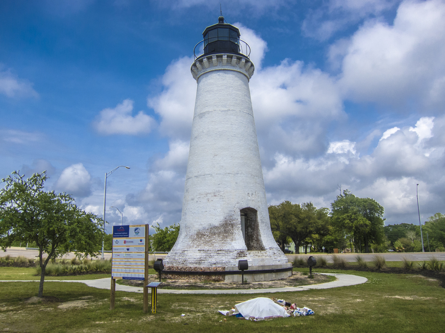 The reconstructed Round Island Light