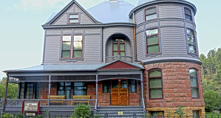 Built in 1892, the Historic Adams House is fine example of Queen Anne architecture.