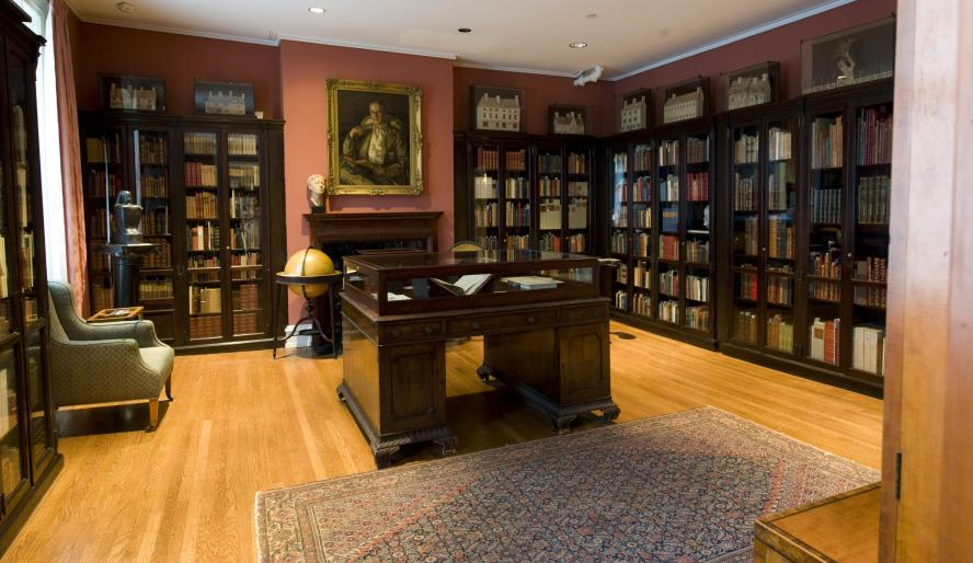 The heart of the Rosenbach; the brother's library that contains too many rare books to list here.