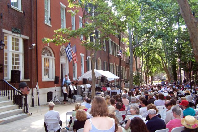The Rosenbach conducts its Bloomsday Festival which celebrates the life and work of James Joyce every June 16th.