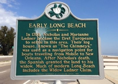 The marker is located next to highway 90.