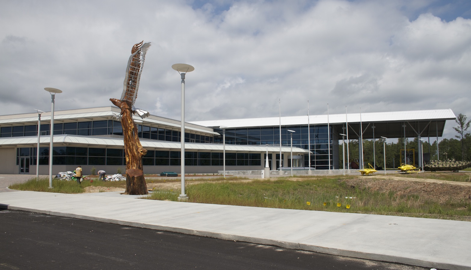 The INFINITY Science Center opened in 2012 and focuses on the STEM subjects, aerospace,and earth science.