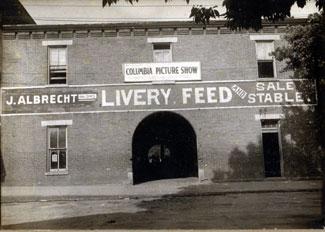 Damn Theatre Building, Circa 1900