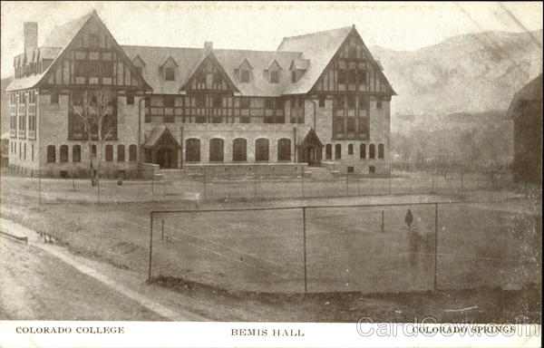 Bemis Hall shortly after it was completed