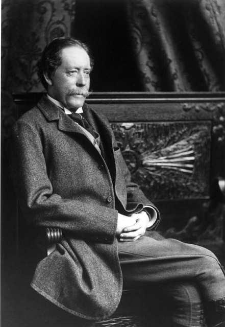 General William Palmer circa 1870. The school's namesake