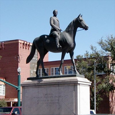General William Palmer Statue as it looks today