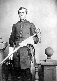 Captain William Palmer in 1861