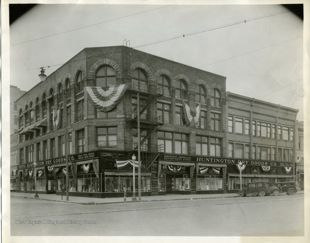 Huntington Dry Goods Department Store