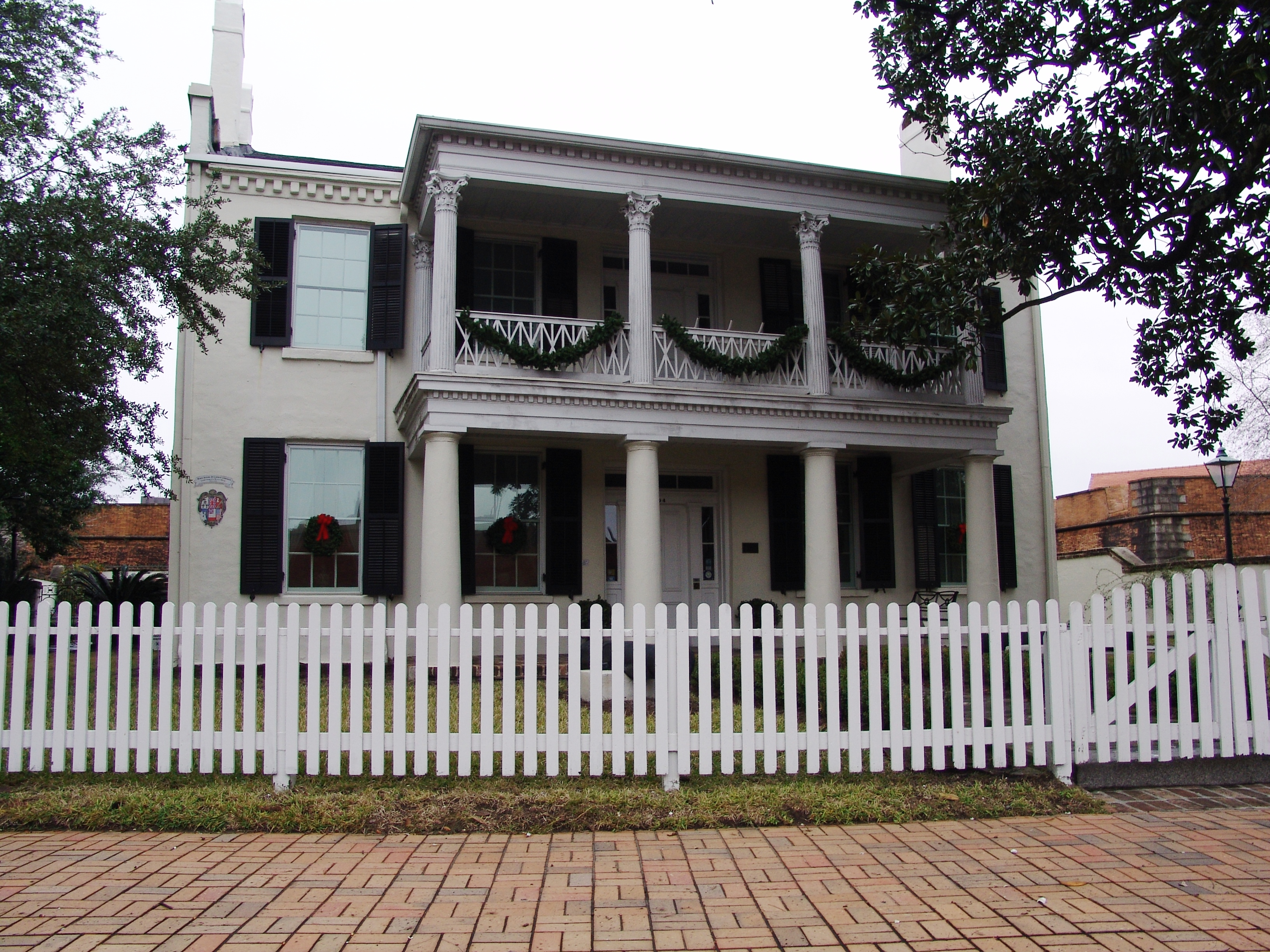 The Conde–Charlotte House Museum was a Navy officer's club during World War II.