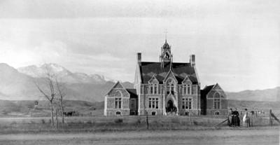 Cutler Hall in 1882