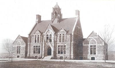 Cutler Hall in 1902