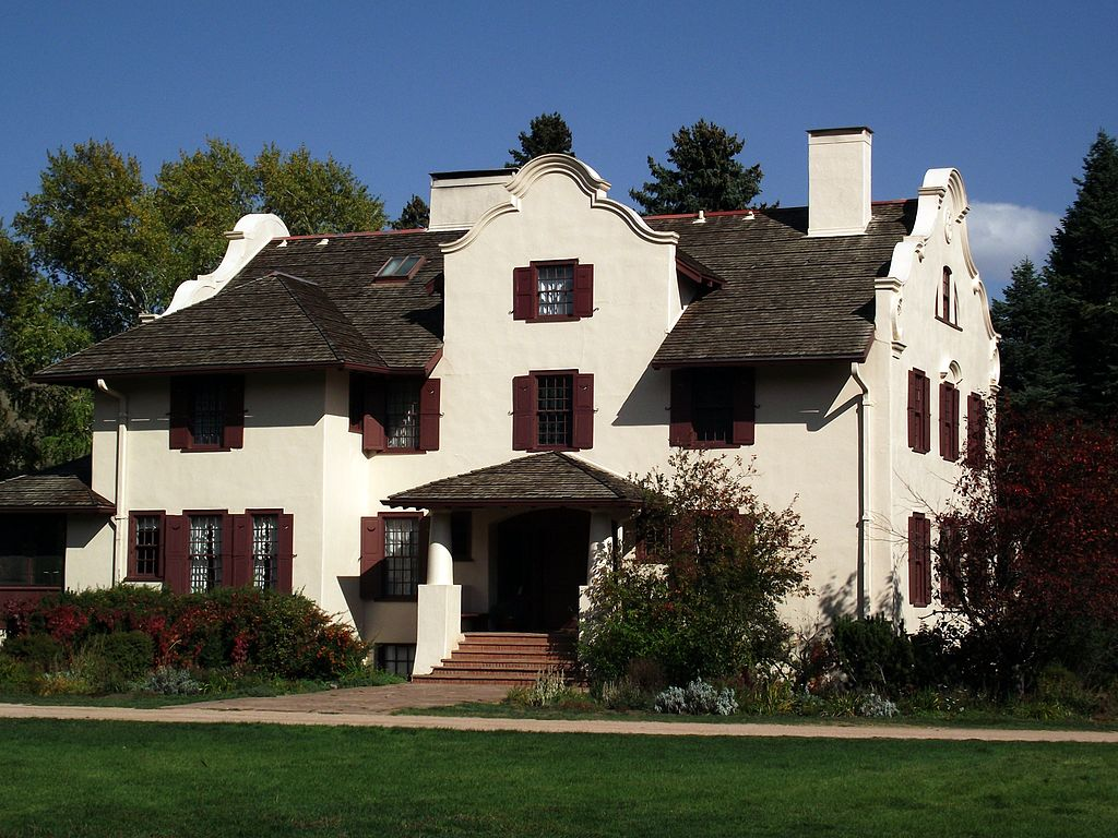 The ranch's Chambers House