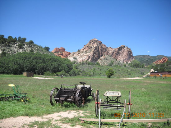 A view of some of the property of the ranch