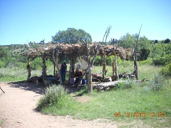 American Indian shelter found on the ranch