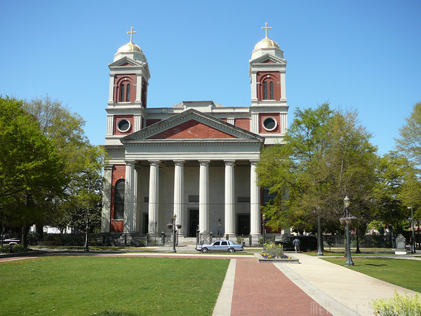 The Cathedral-Basilica of the Immaculate Conception took fifteen years to build between 1835-1850.