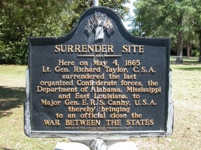 The historical marker is easily accessible and located in a park.