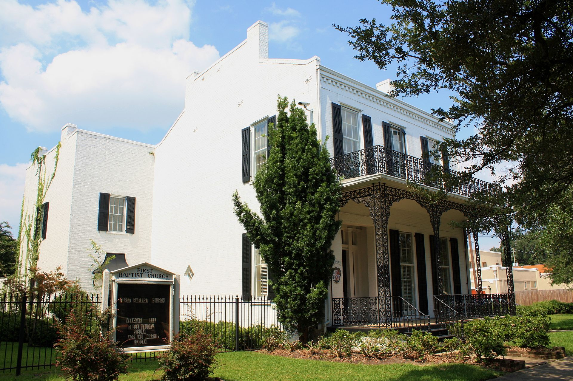 The Raphael Semmes House, built in 1858 and the home of its namesake from 1871-1877.
