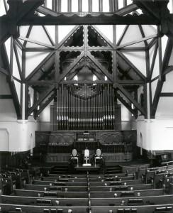 Interior of church. undated