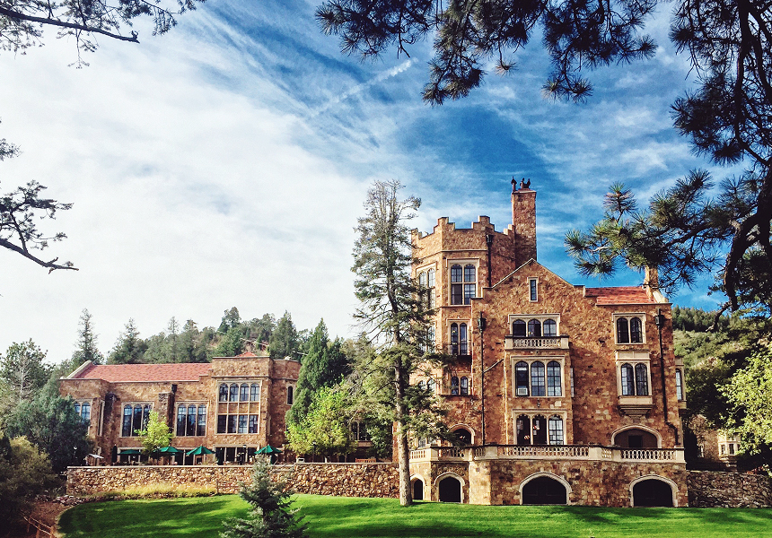 Glen Eyrie as it looks today
