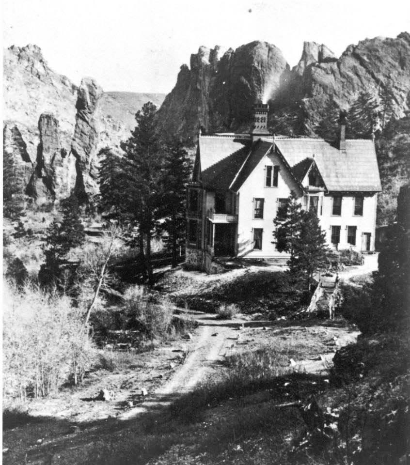 Another view of the original house