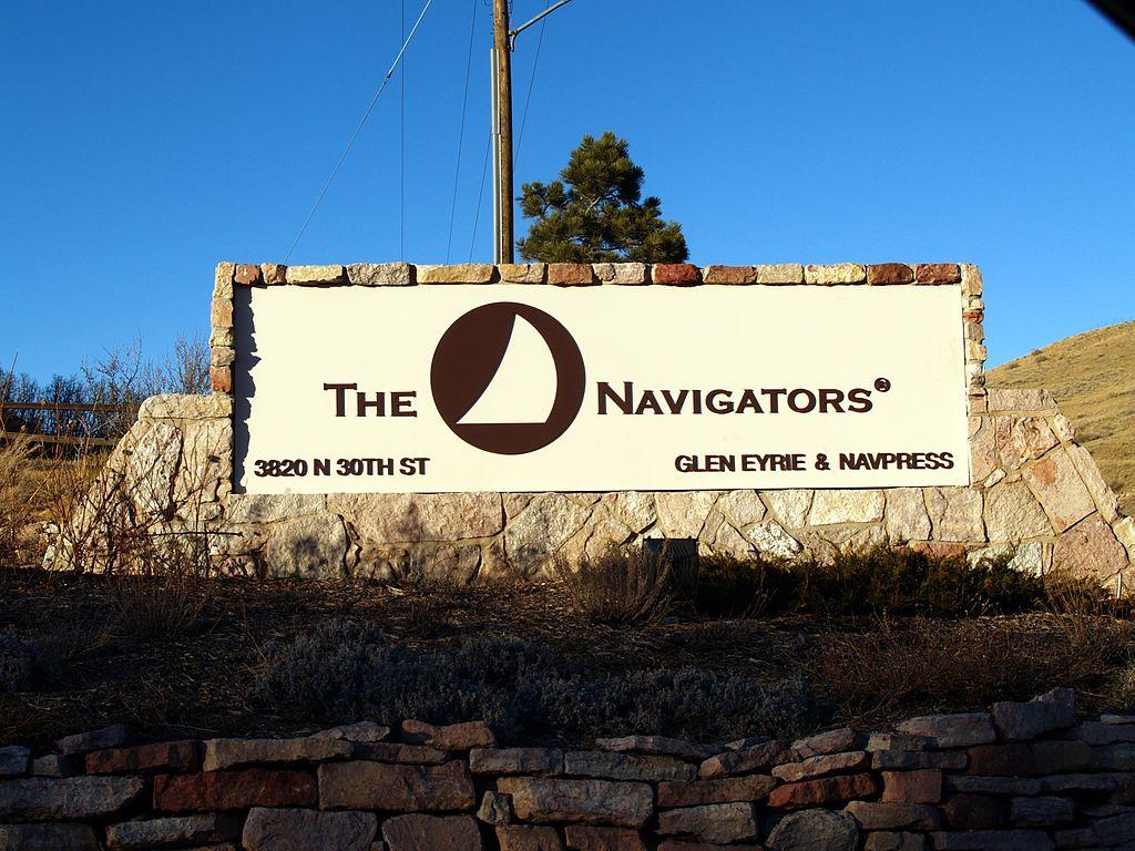 The Navigators entrance sign