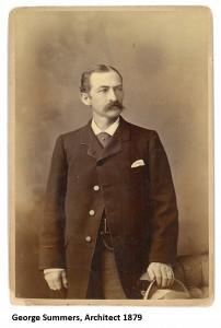 George Summers- Architect of the house. (This and all photos below are courtesy of the McAllister House Museum.)