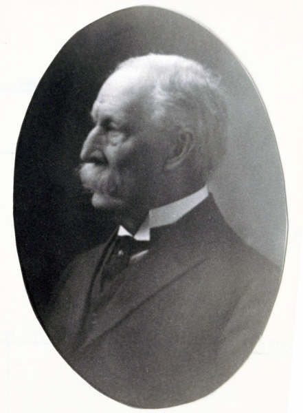 Henry McAllister before his death