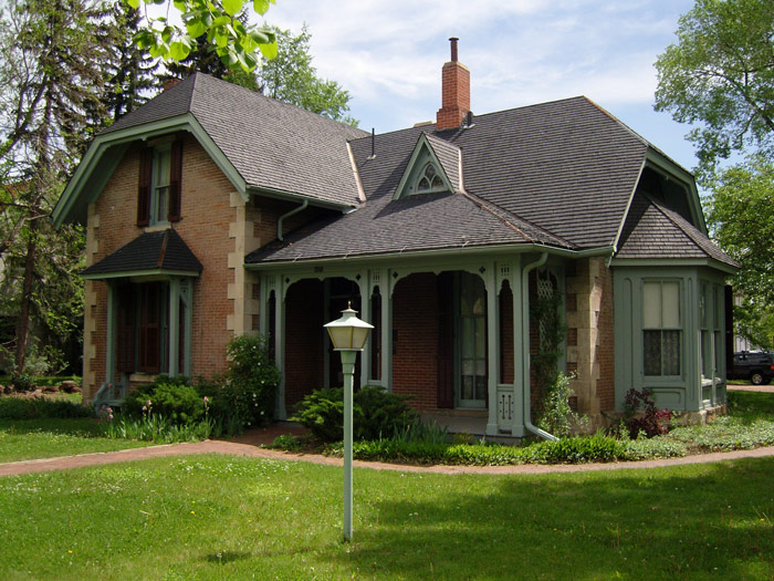 The McAllister House as it looks today