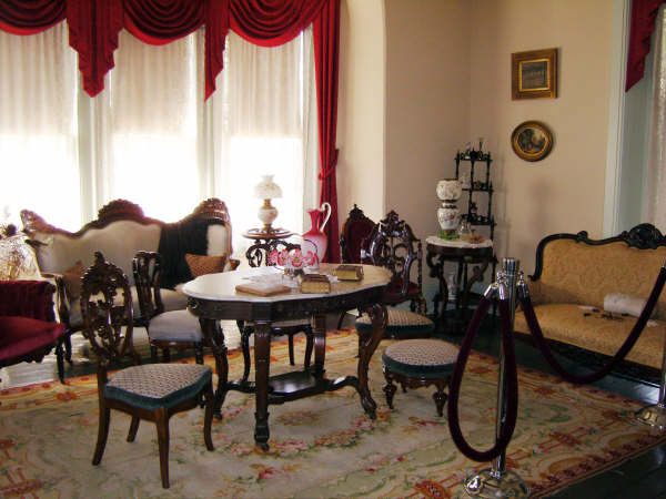 The house's parlor room