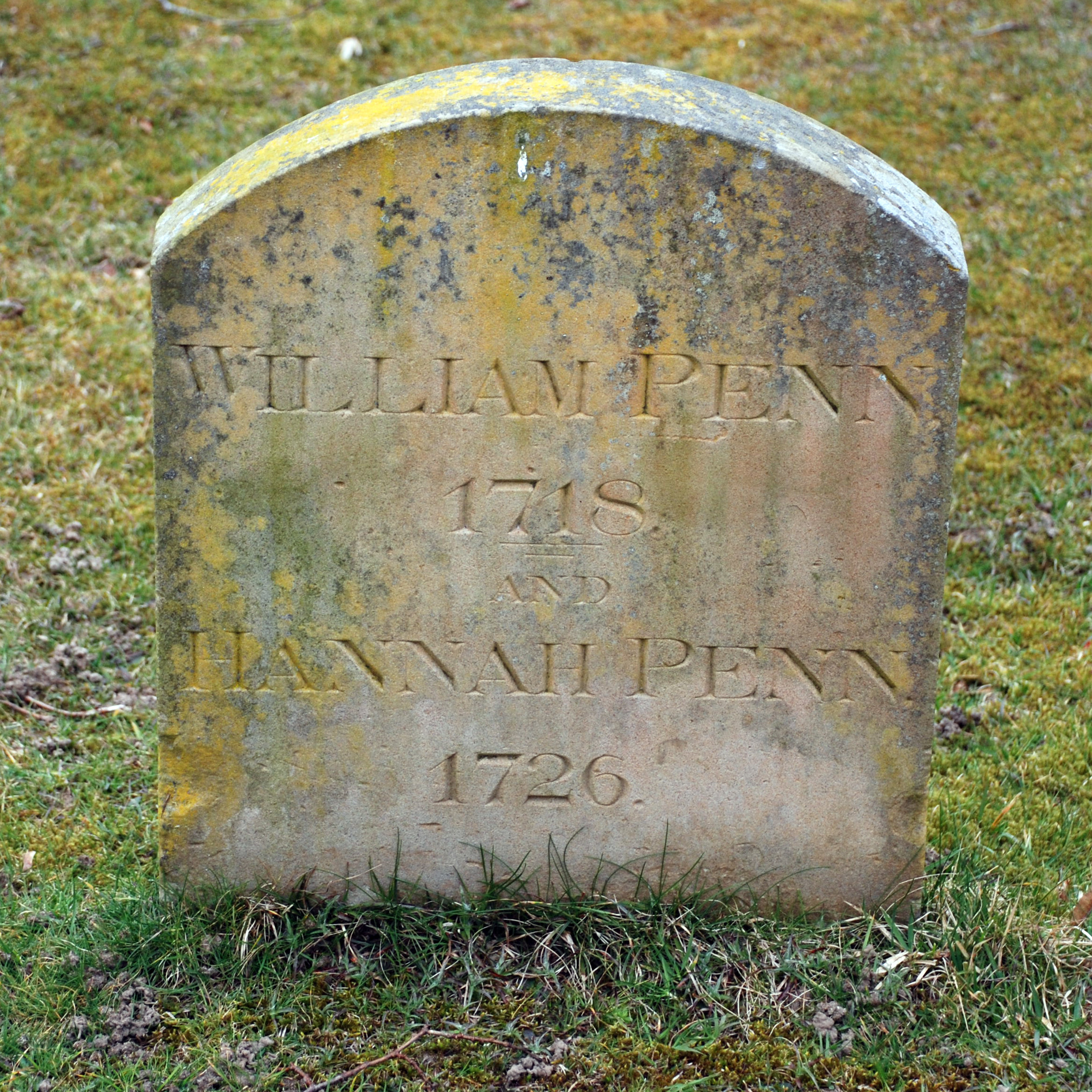 The grave of William and Hannah is located back in England, in Old Jordans Cemetery