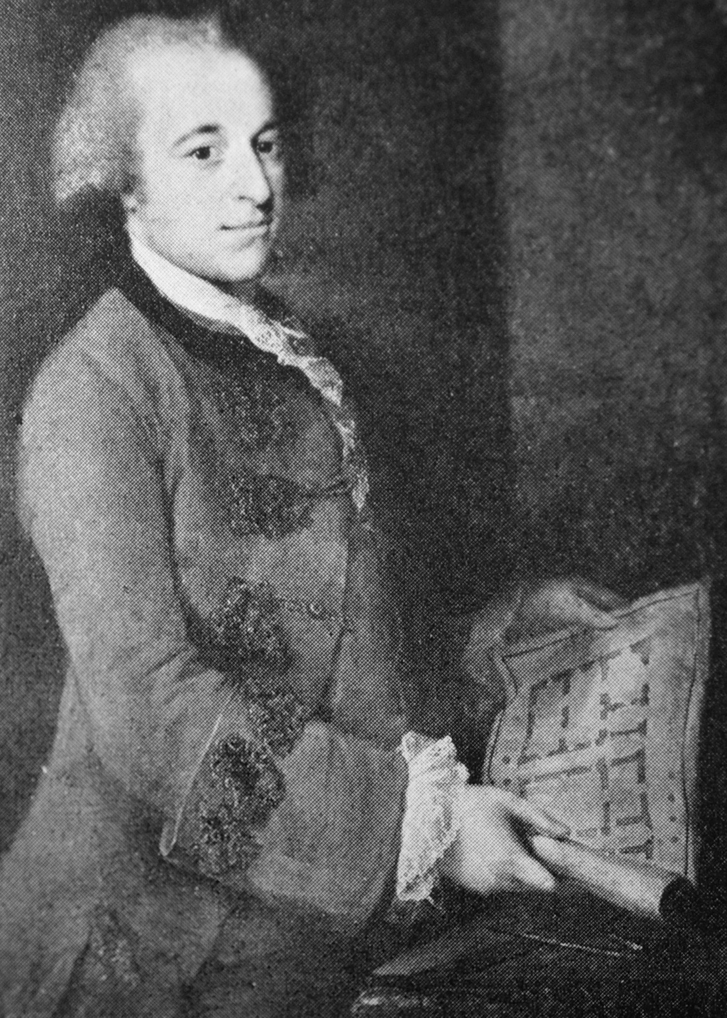 """A portrait of Samuel Powel, the """"patriot mayor"""" and home's most famous resident."""
