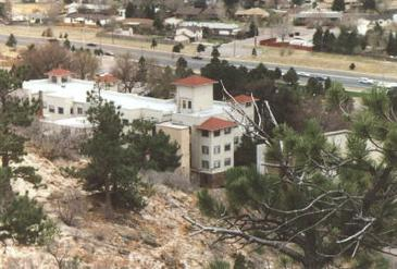 Aerial of Cragmor as it looks today. Courtesy of UCCS