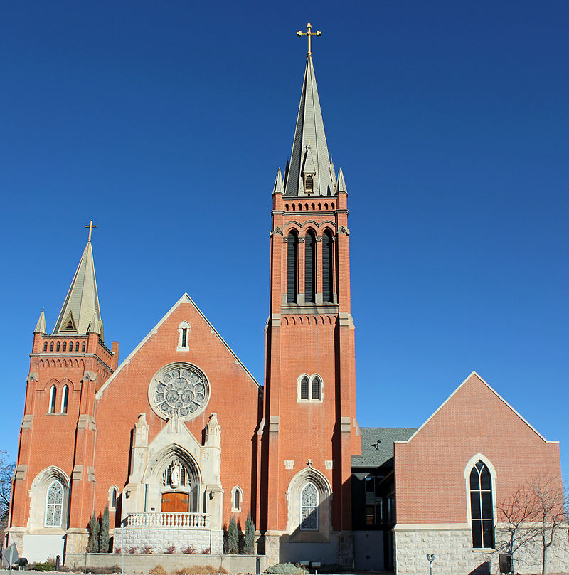 St. Mary's Cathedral as it looks today