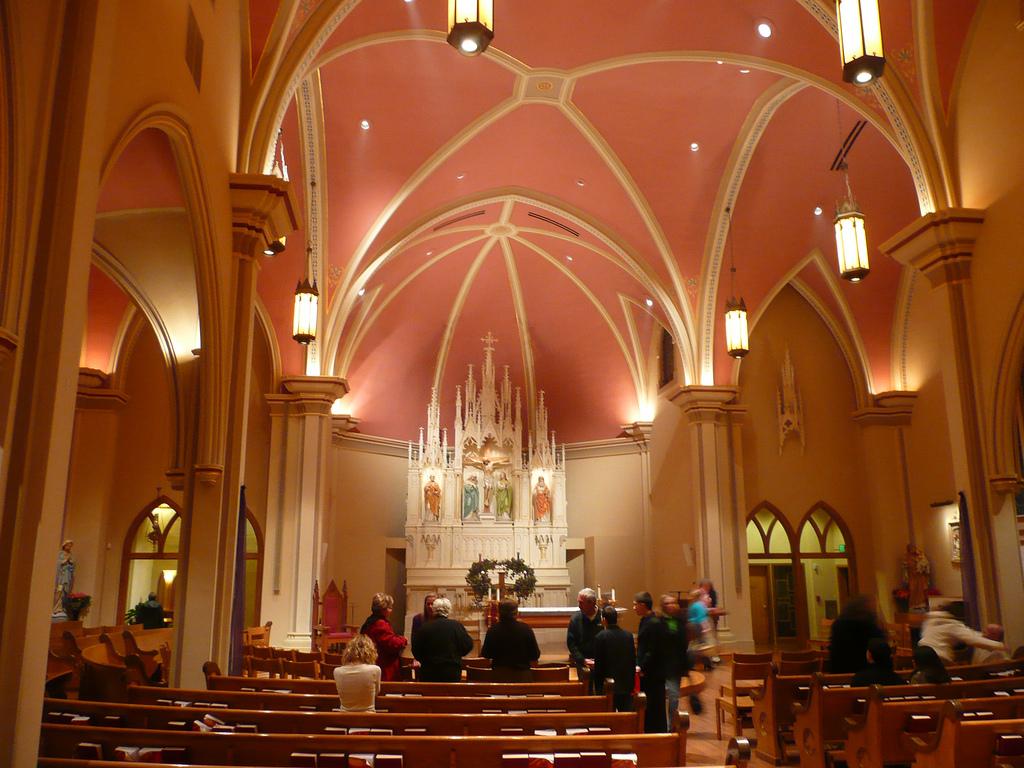 Interior of St. Mary's