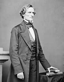 Jefferson Davis soon after his inauguration as President of the Confederate States