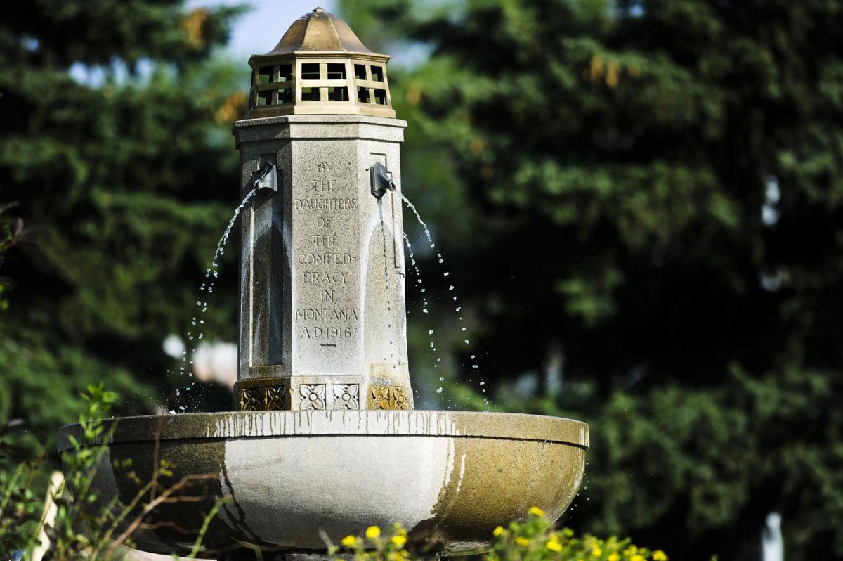 Confederate Memorial Fountain in 2014
