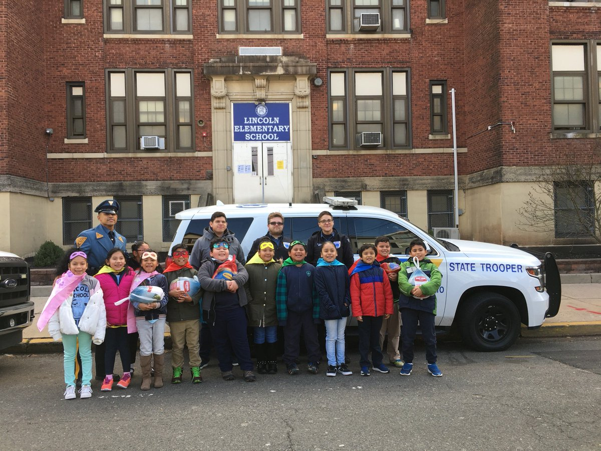 This was a photo that was taken around Thanksgiving, after Officer Cruz (left) and the PTO donated turkeys to families of students in need. Lincoln Elementary School fosters a sense of community with its students and New Brunswick as a whole.