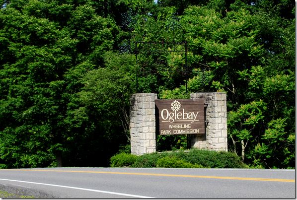 One of the Entrances to Oglebay Park