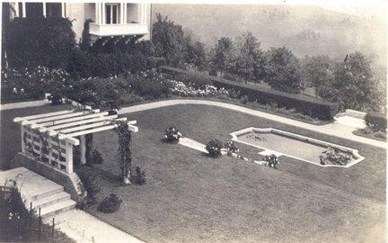Sunken Garden in 1912