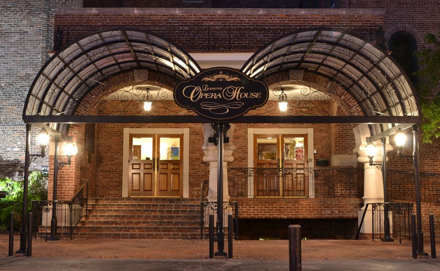 The Lexington Opera House is on the National Register of Historic Places. It was designed by architect Oscar Cobb.