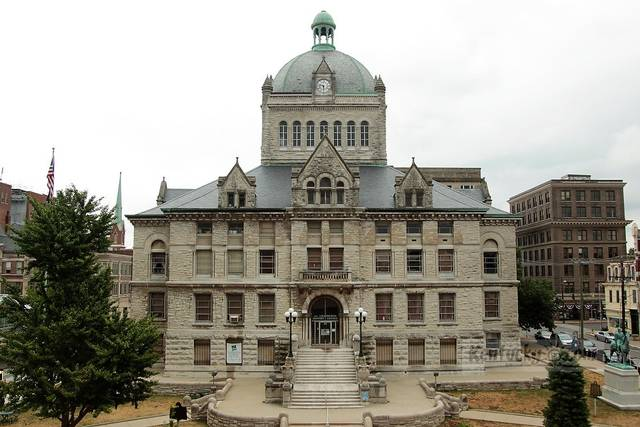 The old Fayette County Courthouse is on the National Register of Historic Places. It was closed in 2012 but is currently being renovated to house a restaurant, bar, event and office space and more.