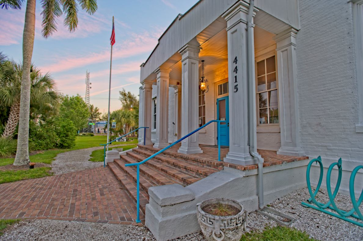 1912 Cortez Schoolhouse present day as the Florida Maritime Museum