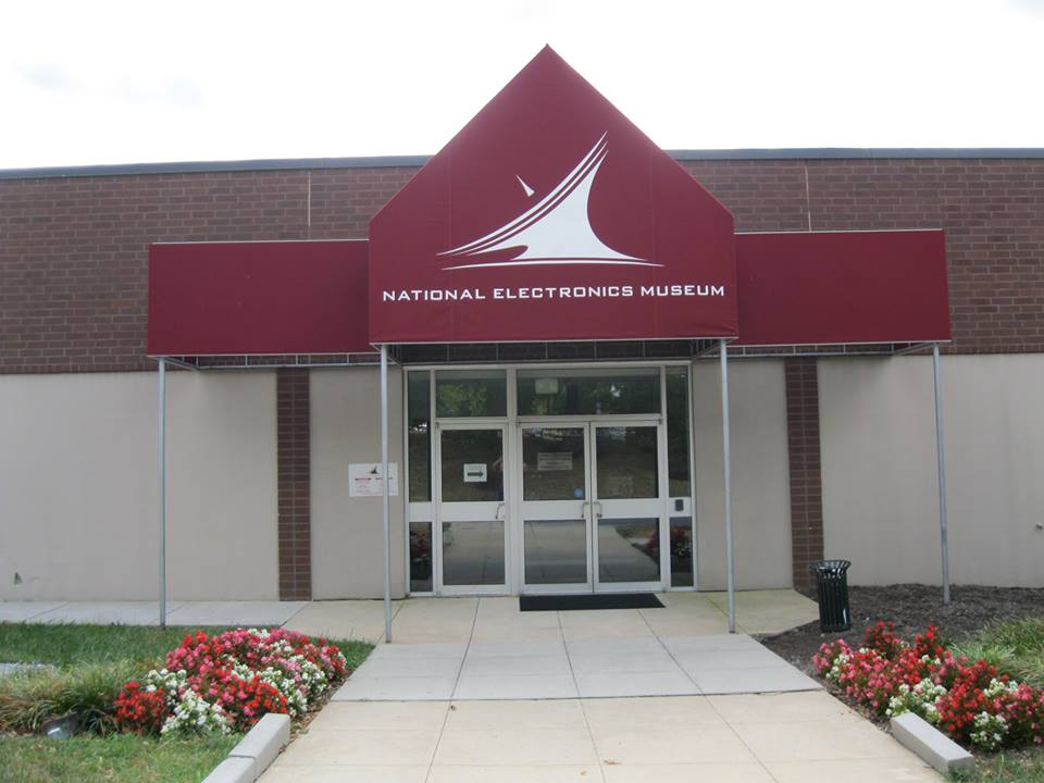 The National Electronics Museum entrance.